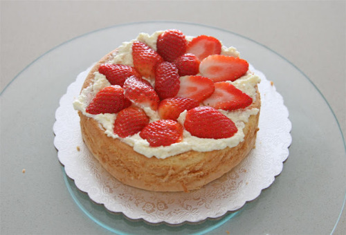 Japanese Style Strawberry Cake - Recipe here