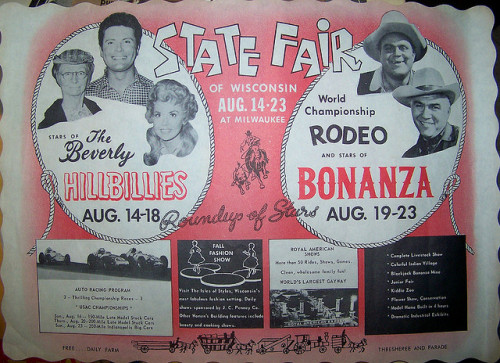 Poster for the Wisconsin State Fair (1963)