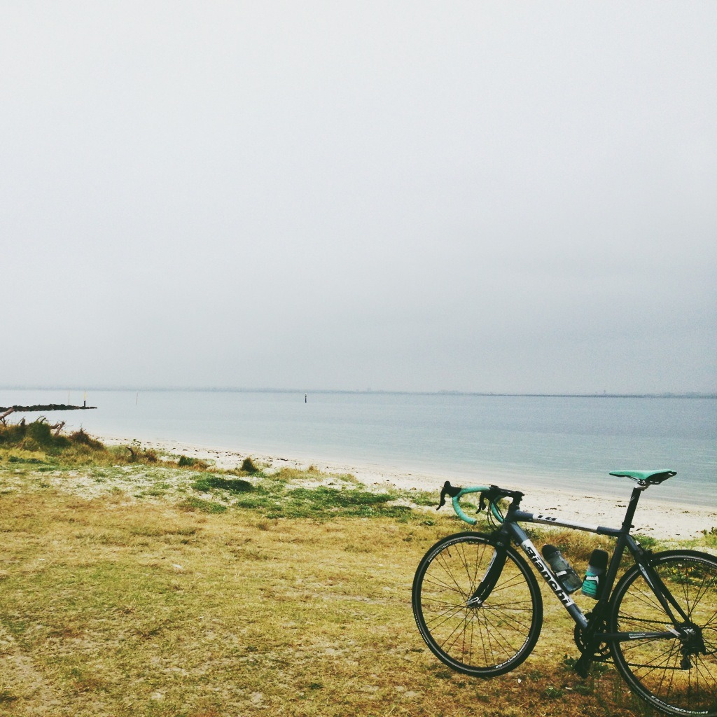 mattsan:  Cool damp morning run to Kurnell on the 1885.