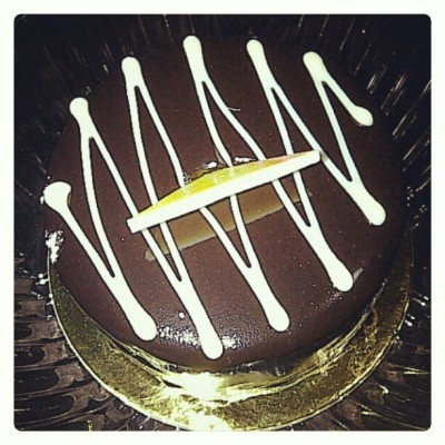 Chocolate cake!!!  (Taken with Instagram at Balsa Sa Niugan)