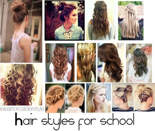 Eleanor inspired hair styles for school.