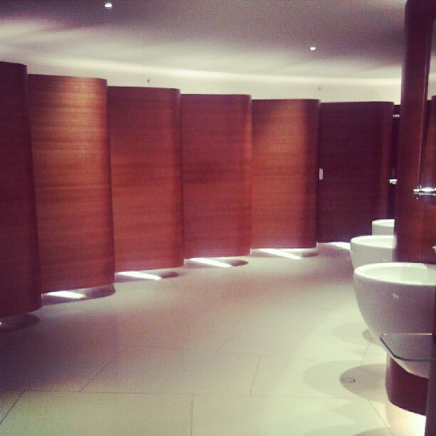 Amazing bathrooms at Pacific Place. (Taken with Instagram)