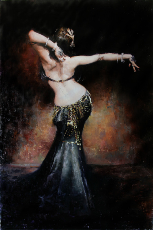ilove-bellydance:  El DuendeThe dancer, Deb Rubin from the photography of Scott Belding  (via Figure ‹ Matt Abraxas)