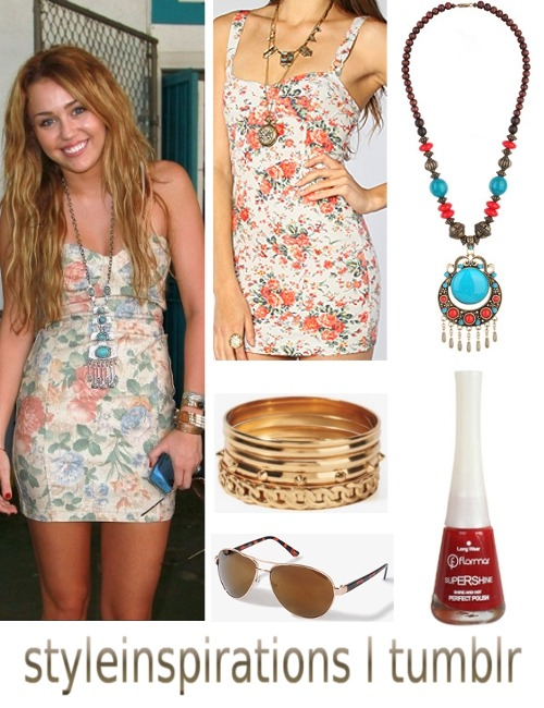 dress - Karma Loop necklace - forever 21 bracelet - forever 21 sunglasses - forever 21 nail polish - douglas