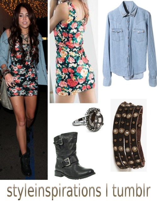 dress - yesstyle shirt - romwe ring - h&m bracelets - forever 21 boots - debenhams