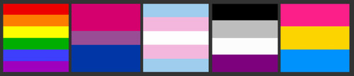 youstareiglare:  queer flags yay