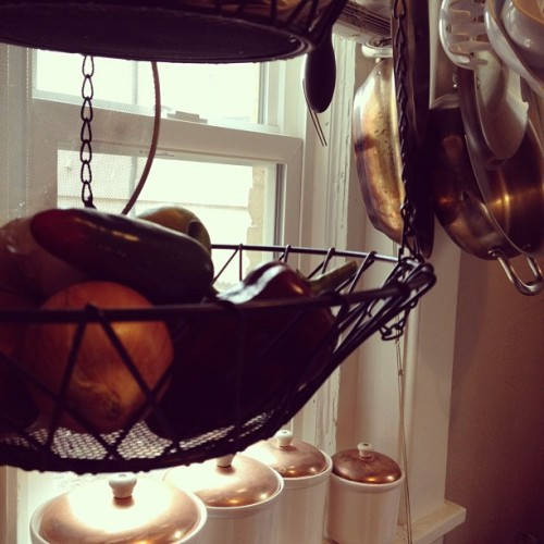 Stocked kitchen (Taken with Instagram)