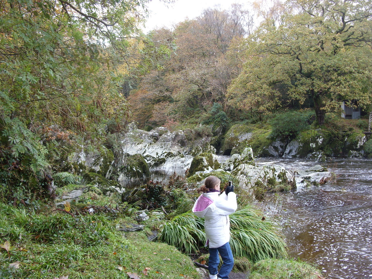 When I was in Wales about 5 years ago…its a beautiful setting♥