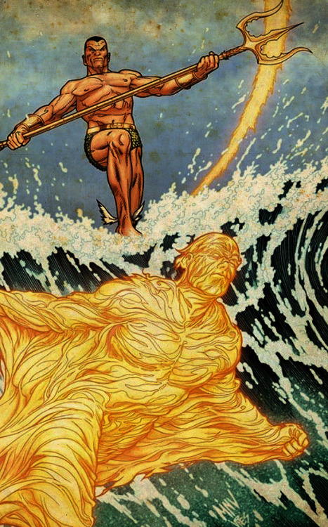 The Sub-Mariner And The Human Torch