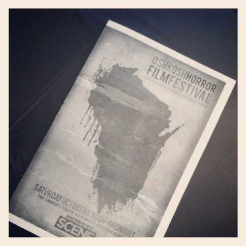 Slasher Studios arrives at Oshkosh Horror! (Taken with Instagram)