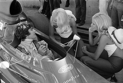 ladies man …François Cevert, ELF Tyrrell-Ford 006, 1973 Brasilian Grand Prix, Interlagos