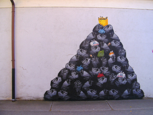 big pile by thedotmasters on Flickr.Nice Dotmasters garbage in Munich