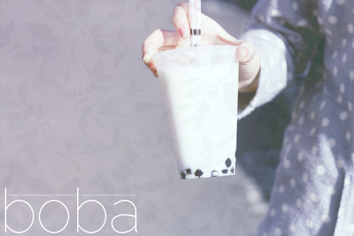 Boba (messing around with stamps/textures)