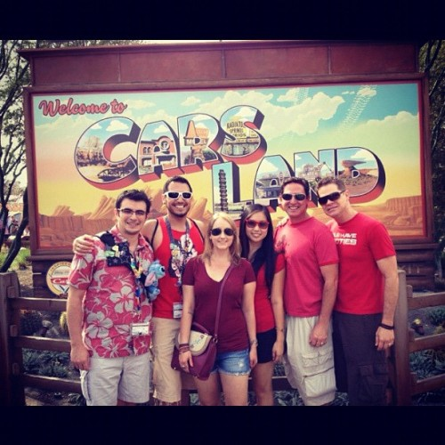 One of my favorite times at Disneyland/California Adventure #gaydays  (Taken with Instagram at Disney California Adventure Park)