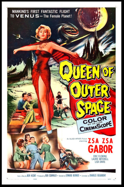 notpulpcovers:  Queen of Outer Space