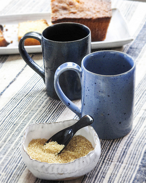 Nom 2012 Rustic Baking-Tea Mugs by nomliving.com on Flickr.