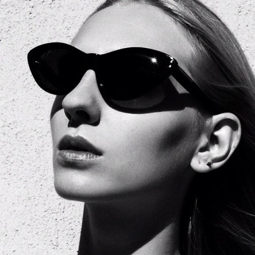you're so cool. Iggy and her shades #instalove #sunglasses #alexcovo ##beautiful #iggy #nyc  (Taken with Instagram)