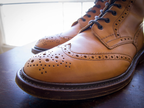 Fall Boots: Tricker's Stow