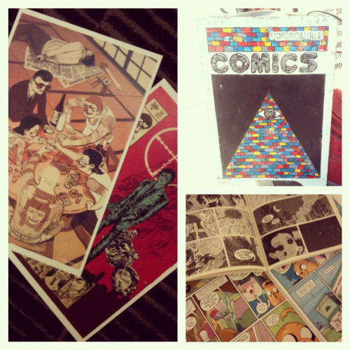Print/comic book shopping at portland