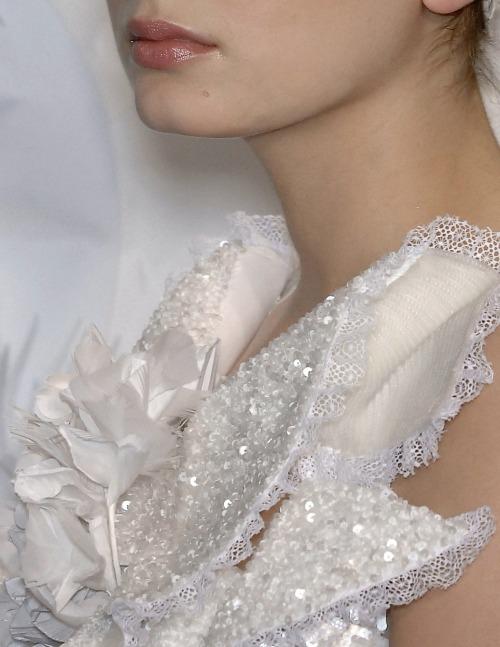lavandula:  chanel haute couture spring/summer 2009