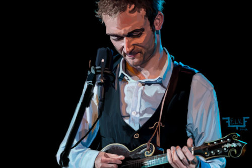 I couldn't sleep last night, so here's a picture of Chris Thile - mandolin virtuoso and all around cool person.