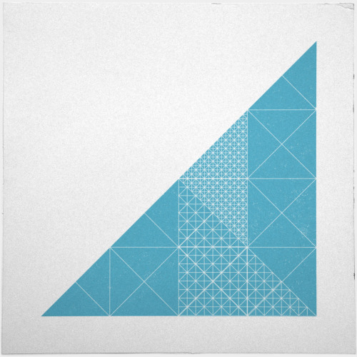 geometrydaily:  #285 Glass tower – A new minimal geometric composition each day
