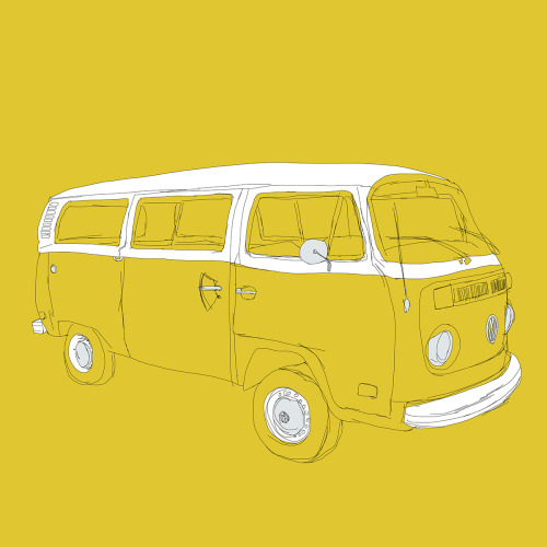 I love the eatsleepdraw blog - I submitted my little VW Bus drawing a while back and it's been blogged by them - soooo happy! eatsleepdraw:  VW T2 Microbus by Martin Lucas. Prints available on Society6.com