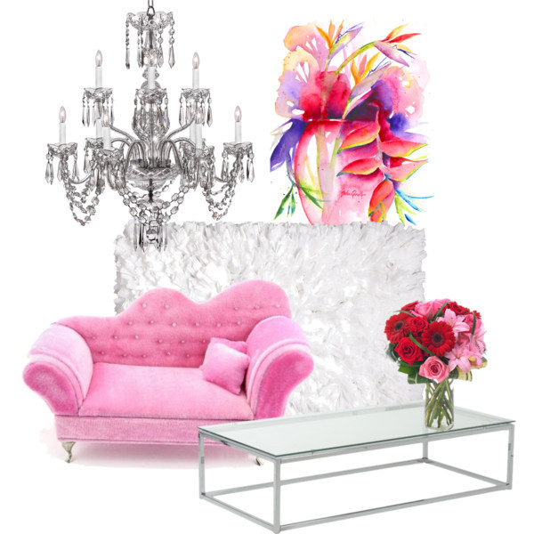 Barbies Room by istyleandpastry on Polyvore