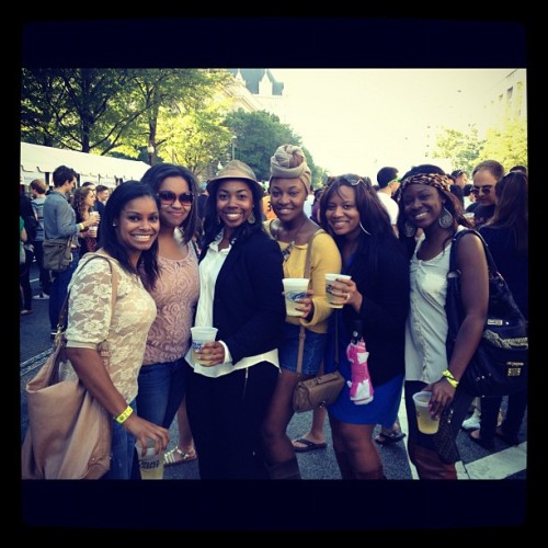 Taste of DC. The girls. @sunshinere @punkii_brewster @legallyclueless @missmelmill @shariamor27 (Taken with Instagram)
