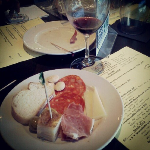 Wine tasting with some dads.  (Taken with Instagram)