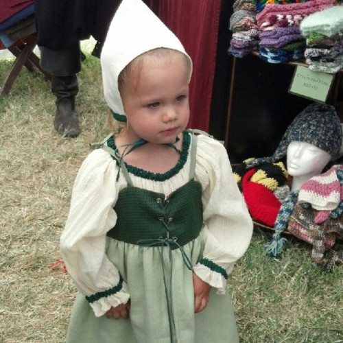 #baby #emma #pretty #renfair #lasvegas (Taken with Instagram)