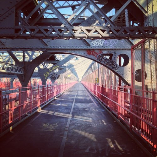 #williamsburg #bridge #brooklyn  (Taken with Instagram at Williamsburg Bridge)