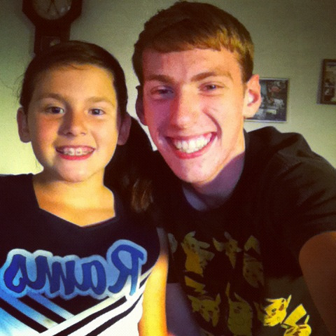 my little cheerleader(:
