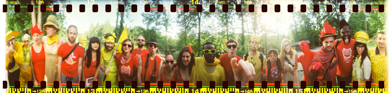 360 Spinner shot before our Color War at Phoot Camp.  Ashokan - June 2012  ©Lauren Randolph