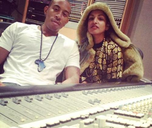 miatranslations:  M.I.A. & Ludacris in the Studio