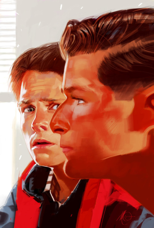 Brilliant painting of Marty & George #McFly