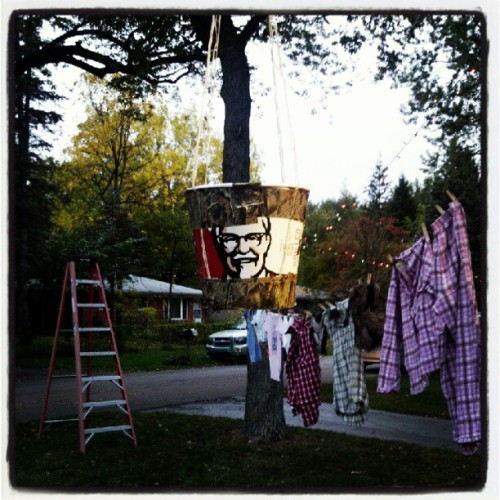 #Redneck #pinata (Taken with Instagram at Redneck Party)
