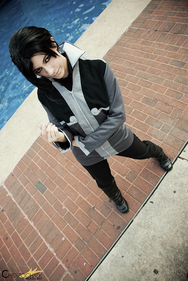 my-little-nerd:  Otakon: Wanna Go Toe to Toe? by *burloire Every time I see a Tahno cosplay… I wanna get sexual. mmmm, yeah baby.