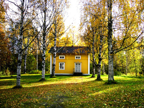 someones yellow house (by ~Frida*~)