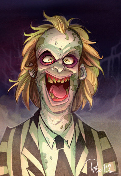 xombiedirge:  Beetlejuice by Brett Parson / Website