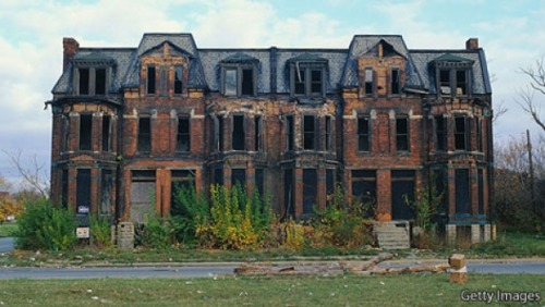 Detroit Y.F. | NEW YORK, economist.com Metaphoropolis DETROIT'S demise was bred by the very con­di­tions that made it the world's fastest grow­ing city in 1930. When its car indus­try boomed, Detroit was the Amer­i­can dream at its best, pre­sent­ing a chance for work­ing men to make…