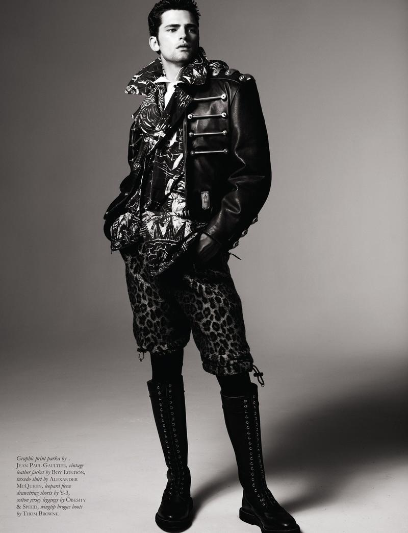Sean O'Pry @ VNY Model Management  Black Magazine, September 2012  Editorial - 'Eyes on the Prize'  Photo Credits - Michael Schwartz