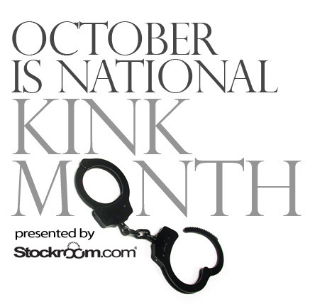 Stockroom.com Declares October Is  National Kink Month  Leading Fetish Sex Toy Store Stockroom.com Celebrates With Sale & Free Kinky Lessons