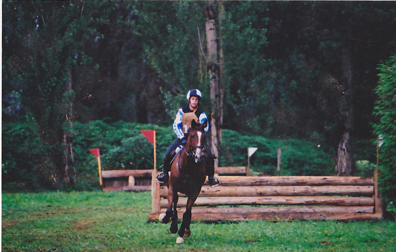 Splash in her eventing days