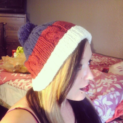 New #beanie #love #personal #self #hair #blonde  (Taken with Instagram)