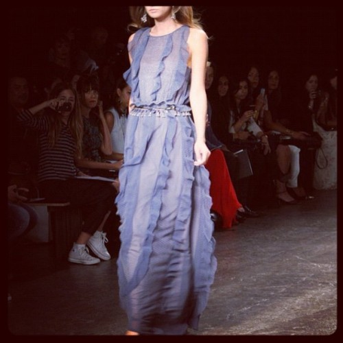 Sachin & Babi SS13 #fashion #fashionweek #newyork #womenswear #spring13  #boredfast #plaztikmag  (Taken with Instagram)