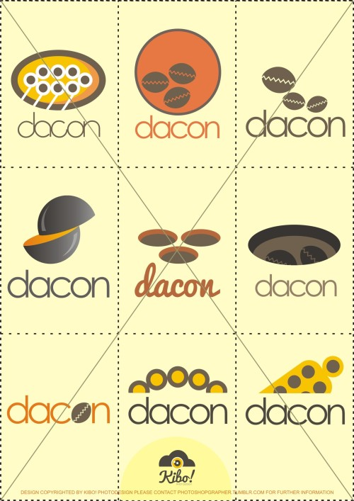 Dacon Logo    client : Dacon Clothing - Malang, Indonesia date : September 2012   http://photoshopgrapher.tumblr.com/