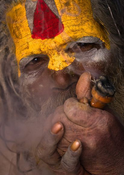 Pashupatinath, NepalSadhu. Guido Dingemans