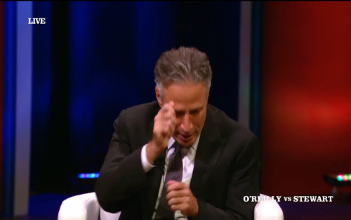 "Jon Stewart, describing what it's like to walk inside the Fox News offices: ""It's like that scene in Indiana Jones where all those kid miners are working …"""