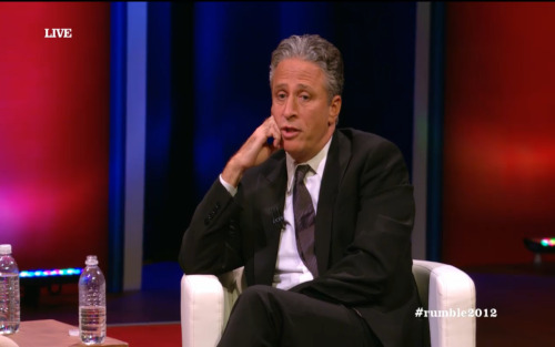 "Jon Stewart's advice to the youth of America: ""Don't think of me as an entitled moocher when I'm collecting my benefits."" Bill O'Reilly: ""Find what you're good at and make money doing it."""